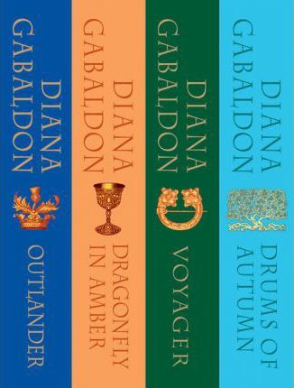 Outlander Boxed Set : Outlander, Dragonfly in Amber, Voyager, Drums of Autumn