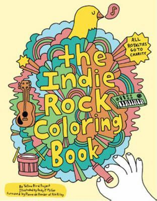 Indie Rock Coloring Book
