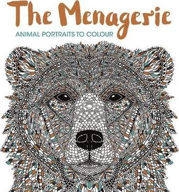 The Menagerie : Animal Portraits to Colour